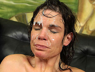FaceFucking.com Molly Madison gets a messy facial